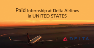 Paid Internship at Delta Airlines in USA