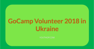 GoCamp Volunteer 2018 in Ukraine