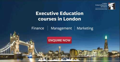 London School of Business and Finance, Executive Education