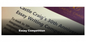 Castle Craig's 30th Anniversary – International Essay Writing Competition 2018