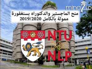 Research Scholarship in Nanyang Technological University for international students (NTU Singapore)