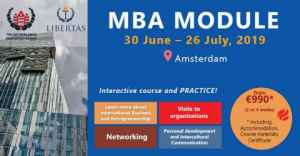 Join The MBA Module 2019 in Netherlands