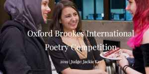 The Oxford Brookes International Poetry Competition