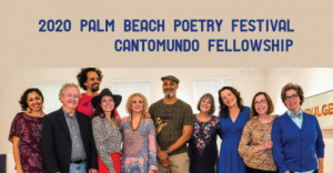 2020 Palm Beach Poetry Festival CantoMundo Fellowship